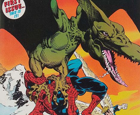 Marvel Fanfare #1 cover