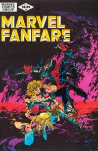Marvel Fanfare #2 cover