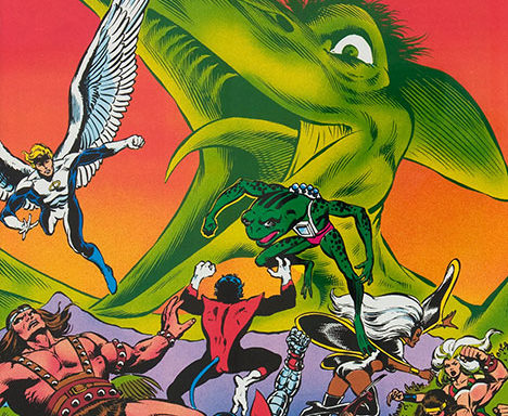 Marvel Fanfare #3 cover