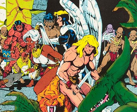Marvel Fanfare #4 cover