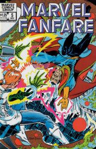 Marvel Fanfare #5 cover