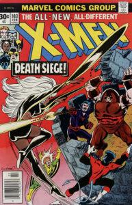 X-Men #103 cover