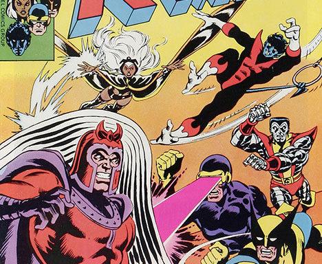 X-Men #104 cover