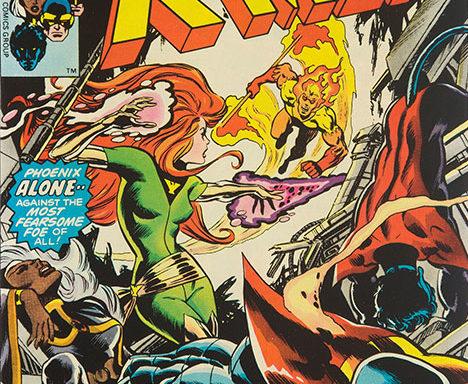 X-Men #105 cover