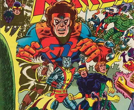 X-Men #107 cover