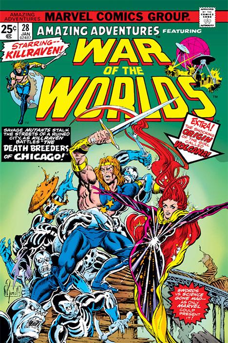 Amazing Adventures #28 cover