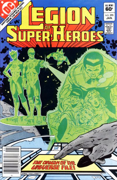 The Legion of Super-Heroes (1980) #295 cover