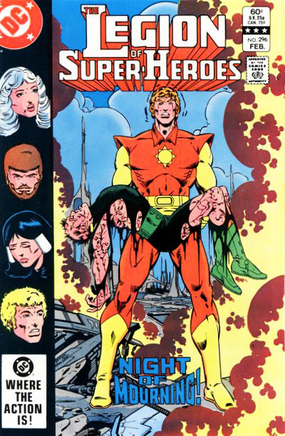 The Legion of Super-Heroes (1980) #296 cover