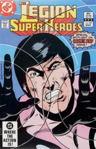 The Legion of Super-Heroes (1980) #297 cover