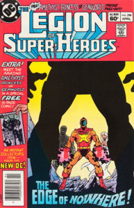 The Legion of Super-Heroes (1980) #298 cover