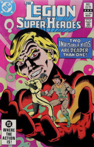 The Legion of Super-Heroes (1980) #299 cover