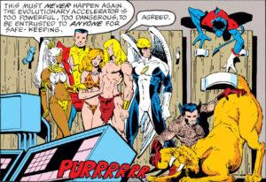 Marvel Fanfare #4 interior panel featuring Zabu