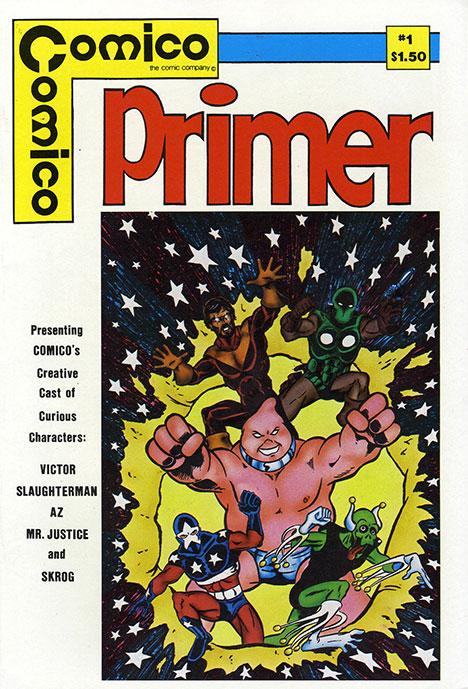 Primer #1 cover