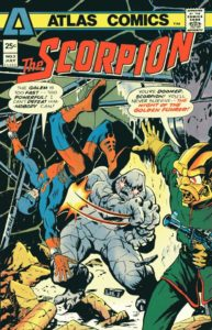 Scorpion #3 cover