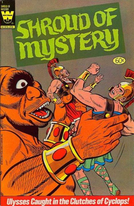 Shroud of Mystery #1 cover
