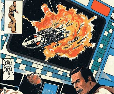 Space: 1999 #4 cover