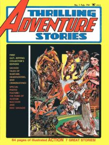 Thrilling Adventure Stories #1 cover