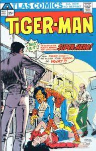 Tigerman #1 cover