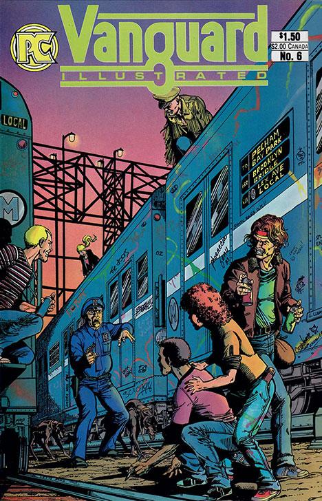 Vanguard Illustrated #6 cover