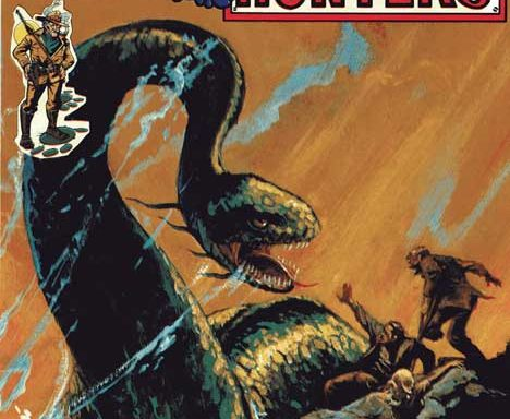 Monster Hunters #1 cover