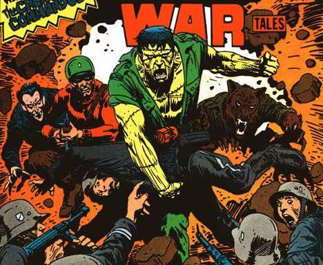 Weird War Tales #93 cover