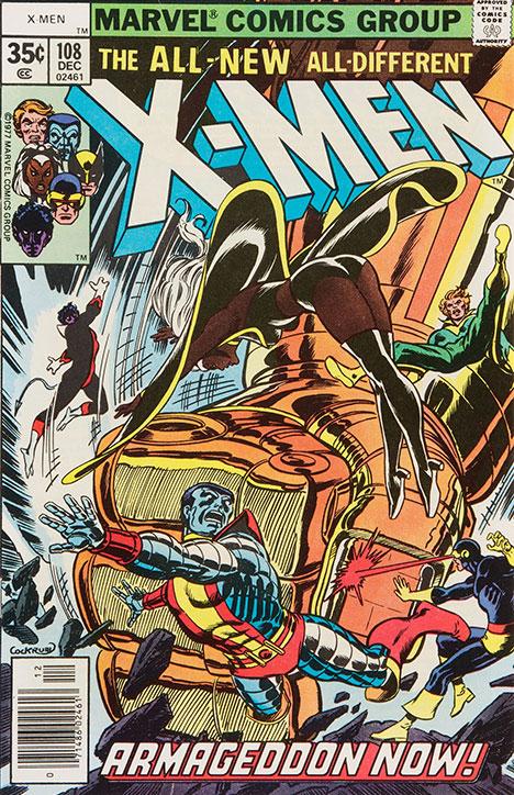X-Men #108 cover