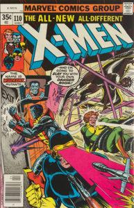 X-Men #110 cover
